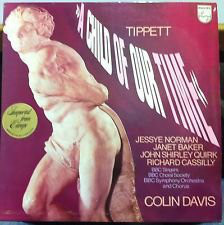 Tippett* - Jessye Norman, Janet Baker, John Shirley Quirk*, Richard Cassilly, BBC Singers, BBC Choral Society, BBC Symphony Orchestra And Chorus*, Colin Davis* - A Child Of Our Time (LP)