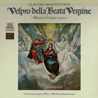 Claudio Monteverdi / Concentus Musicus Wien, Nikolaus Harnoncourt, Jürgen Jürgens - Vespro Della Beata Vergine »Marien-Vesper (1610)« (2xLP + Box, RP)