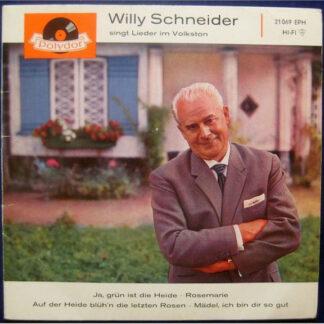 Willy Schneider - Singt Lieder Im Volkston (7