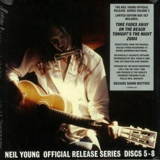 Neil Young - Official Release Series Discs 5-8 (4xLP, Album, RE, RM + Box, Comp, Ltd)