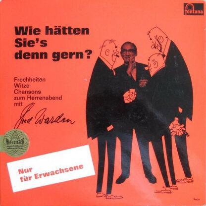 Fred Warden - Wie Hätten Sie's Denn Gern? (LP, Album)
