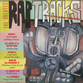 Various - The Greatest Rap Tracks (LP, Mixed)