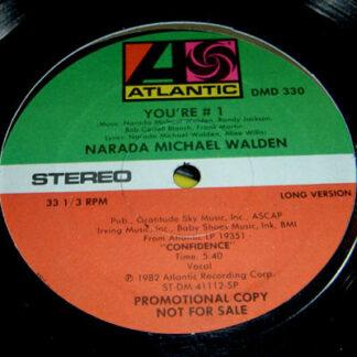 "Narada Michael Walden - You're #1 (12"", Promo, SP)"