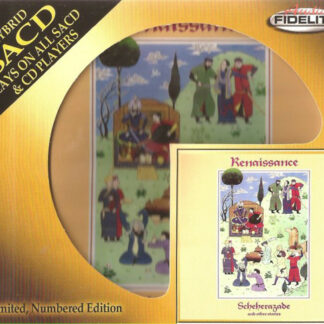 Renaissance (4) - Scheherazade And Other Stories (SACD, Hybrid, Album, Ltd, Num, RE, RM)