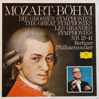 Mozart* ● Böhm*, Berliner Philharmoniker - Die Grossen Symphonien Nr.25-41 (7xLP, Comp, RE + Box)