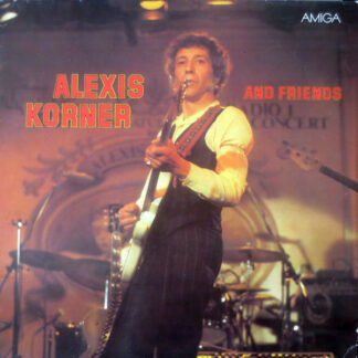 Alexis Korner - Alexis Korner And Friends (LP, Comp, RE, Blu)