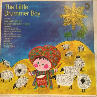 Don Janse And His 60 Voice Children's Chorus - The Little Drummer Boy (LP, Album)