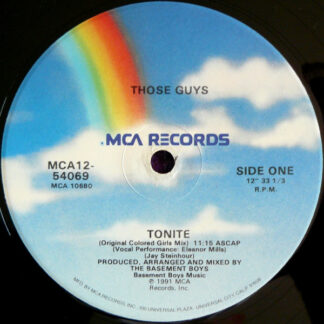 Those Guys - Tonite (12