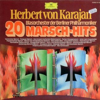 Herbert von Karajan, Blasorchester Der Berliner Philharmoniker - 20 Marsch-Hits (LP, Album)