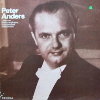 Peter Anders (2), Beethoven*, Brahms*, Schumann*, Wolf*, R. Strauss* - Lieder Von Beethoven, Brahms, Schumann, Wolf Und R. Strauss (LP, Mono)