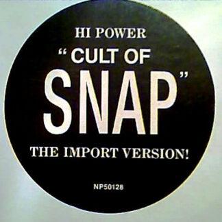 "Hi Power - Cult Of Snap (12"", Promo)"