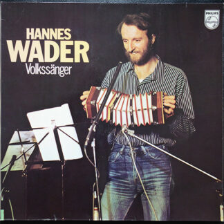Hannes Wader - Volkssänger (LP, Album, Gat)