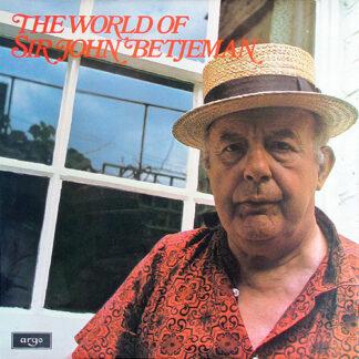 Sir John Betjeman* - The World Of Sir John Betjeman (LP, Comp, Mono)