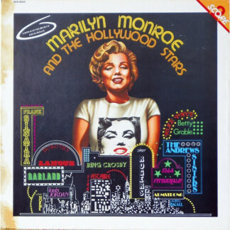 Marilyn Monroe - Marilyn Monroe And The Hollywood Stars (2xLP, Comp)