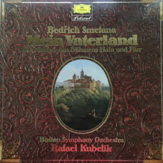 Bedřich Smetana - Boston Symphony Orchestra, Rafael Kubelik - Mein Vaterland (2xLP, Album, RE + Box)