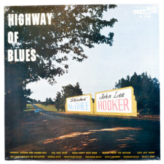 """Sticks"" McGhee* & John Lee Hooker - Highway Of Blues (LP, Album, RE)"