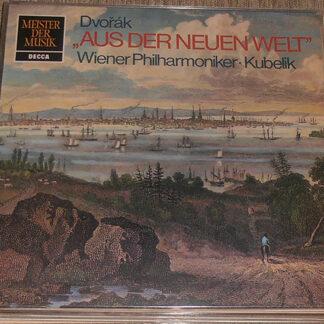 Anton Dvorák* - Rafael Kubelik, Wiener Philharmoniker - Symphonie Nr. 9 (5) E-moll, Op. 95