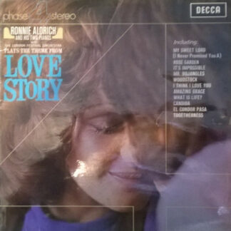 Ronnie Aldrich And His Two Pianos - Love Story (LP, Album)