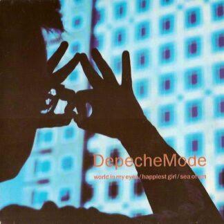 "DepecheMode* - World In My Eyes / Happiest Girl / Sea Of Sin (7"", Single)"