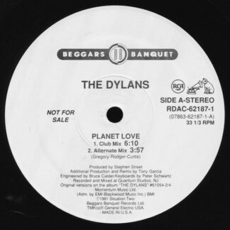 "The Dylans - Planet Love (12"", Promo)"