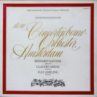Concertgebouw Orchester, Amsterdam*, Bernard Haitink, Claudio Arrau, Elly Ameling - Ein Konzertabend Mit Dem Concertgebouw Orchester, Amsterdam (4xLP, RE + Box)