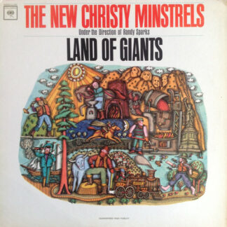 The New Christy Minstrels Under The Direction Of Randy Sparks - Land Of Giants (LP, Mono, Pit)