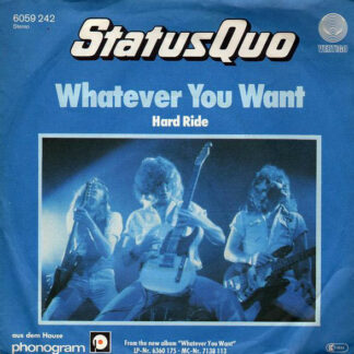 """Status Quo - Whatever You Want (7"""", Single)"""