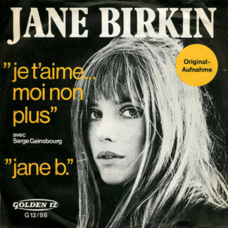 "Jane Birkin Avec Serge Gainsbourg - Je T'aime... Moi Non Plus / Jane B. (7"", Single)"