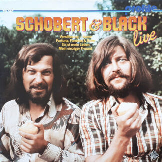 Schobert & Black - Live (LP, Album, RE)