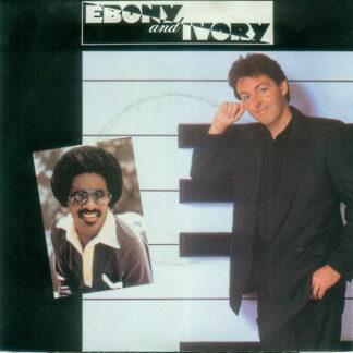 "Paul McCartney - Ebony And Ivory (7"", Single)"
