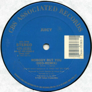 "Juicy - Nobody But You (12"")"