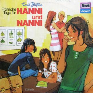 Enid Blyton - Fröhliche Tage Für Hanni Und Nanni (LP)