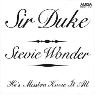 "Stevie Wonder - Sir Duke / He's Misstra Know It All (7"", Single)"