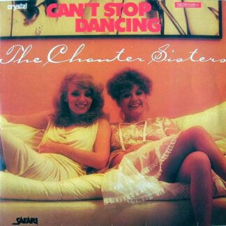 "The Chanter Sisters* - Can't Stop Dancing (12"", Blu)"