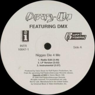 "Drag-On - Niggas Die 4 Me / Ready For War (12"", Promo)"