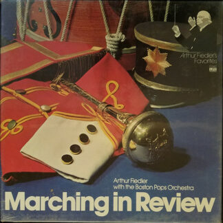 Arthur Fiedler With The Boston Pops Orchestra - Marching in Review (3xLP + Box, Comp)