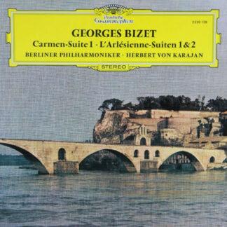Georges Bizet / Berliner Philharmoniker, Herbert von Karajan - Carmen-Suite 1 • L'Arlésienne - Suiten 1 & 2 (LP)