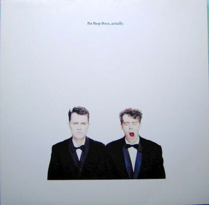 Pet Shop Boys - Actually (LP, Album)