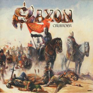 Saxon - Crusader (LP, Album, Gat)