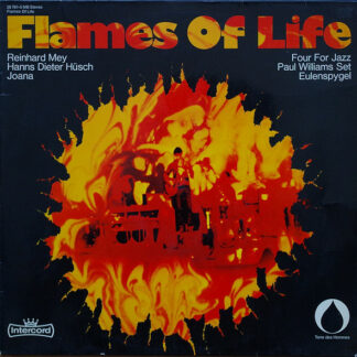 Various - Flames Of Life (LP, Comp, Red)