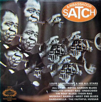 Louis Armstrong & His All-Stars* - Ambassador Satch (LP, Album)