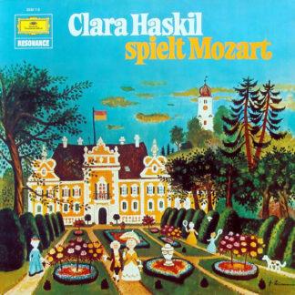 Clara Haskil Spielt Mozart* - Clara Haskil Spielt Mozart (LP, RE)