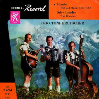 Trio Toni Brutscher - S' Rosele (7