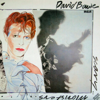 David Bowie - Scary Monsters (LP, Album, Ora)