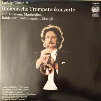 Ludwig Güttler - Italienische Trompetenkonzerte (LP, Dig)