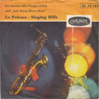 "Billy Vaughn Orchestra* - La Paloma (7"", Single)"