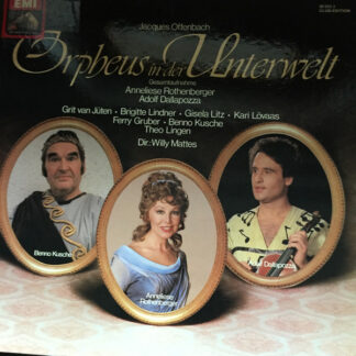 Jacques Offenbach - Orpheus In Der Unterwelt (Gesamtaufnahme In Deutscher Sprache) (Box + 2xLP, Club)