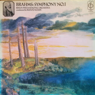 Brahms*, Berlin Philharmonic Orchestra* Conducted By Rudolf Kempe - Symphony No. 1 In C Minor (LP, Album, RE)