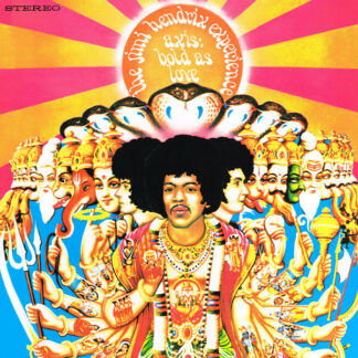 The Jimi Hendrix Experience - Axis: Bold As Love (LP, Album, RE, RM, 180)