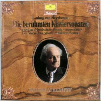 Ludwig van Beethoven - Wilhelm Kempff - Die Berühmten Klaviersonaten (2xLP + Box, Comp, RE)